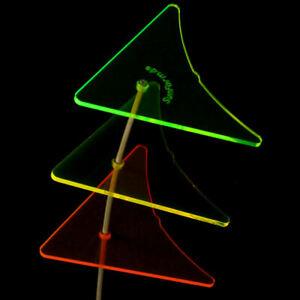 SunForm-Sonnenfänger, die leuchtenden Mini-Kites, 3-farbig mit Stab & Saugnäpfen