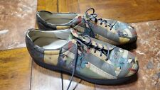 Custom Made Samurai Japanese-Themed Shoes - Size Unknown - Collectible USA