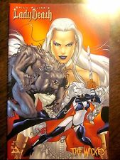 Brian Pulido's Lady Death Wicked #1 (Avatar, 2005) Conflict Cover (Nm, 9.4)