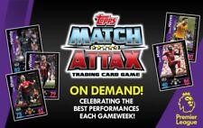 Match Attax On Demand 2018/19 Premier League GAMEWEEK 1 - five card pack 18/19
