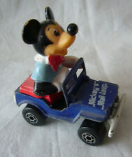 Matchbox- Walt Disney WD 5  Mickey Maus- Mickey Mail Jeep  - Made in Hong Kong
