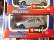 BURAGO FIAT BRAVO  GRIGIA COD. 4145 F 1/43  FONDO DI MAGAZZINO