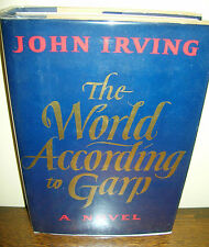 The World According To Garp By John Irving 1978 1st Edition 4th Printing DJ COOL