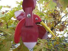 Red Hummingbird Mini Whirligigs Whirligig Windmill Yard Art Hand made from wood