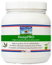 HempPRO (500g) Hemp Protein Powder + Beneficial Herbs and Superfoods Supplement