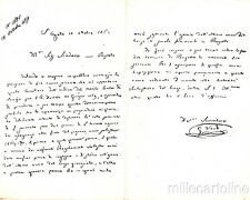 * GIUSEPPE VERDI - Feste I° Centenario 1913 - Al Sindaco di Busseto 1869 Doppia
