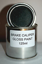 BLACK BRAKE CALIPER PAINT METAL ENGINE High Temperature 125ml