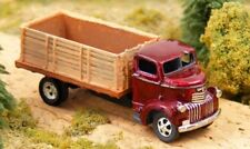 1940's Chevy Cab Over Grain Truck Kit N Scale 1:160 GHQ 100% Brittania Pewter