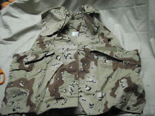 military 100% genuine desert storm PASGT vest kevlar COVER S/M chocolate chip