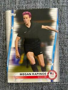 Megan Rapinoe 2020 2021 Topps US Olympics #20 USWNT Soccer USA