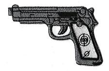 Ecusson patche beretta M92 pistolet gun thermocollant patch revolver