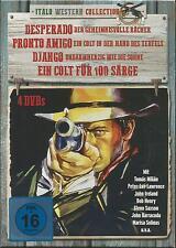 Desperado - Pronto Amigo - Django - Ein Colt für 100 Särge - 4 DVD Box Set - Neu