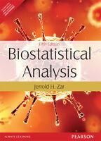 Biostatistical Analysis by Jerrold H. Zar