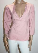 CROSSROADS Designer Pink Embroidered Beaded Tunic Top Size 20 BNWT #SQ58