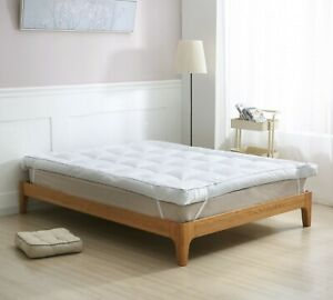 """10 CM / 4"""" Inch Deep Microgel Mattress Topper with Microfiber Filling"""