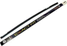 """New Napa 60-1700 17"""" Exact Fit Windshield Wiper Blade Refill Twin Rails Included"""