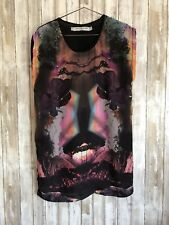 Something Else by Natalie Wood Face Festival Long Tunic Top * 2 XS * READ *