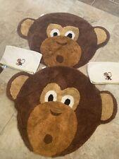 Monkey Bath Rugs
