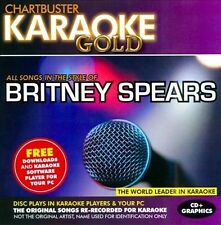 NEW Karaoke Gold: Songs in the Style of Britney Spears (Audio CD)
