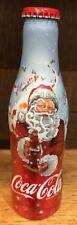 Coca-Cola aluminium bottle 250 ml Christmas Santa Claus 2008 Belgium