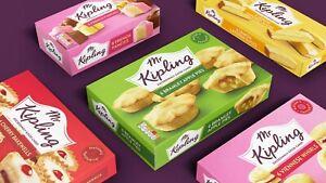 Mr Kipling Cakes, Pies & Slices BRAND NEW SHIPS WORLDWIDE