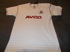 WEST HAM UNITED - OFFICIAL RETRO 1985 AWAY SHIRT - SMALL - SEE DESC FOR SIZING