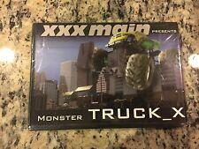 MONSTER TRUCK_X RARE NEW SEALED DVD 2004 RC MONSTER TRUCKS TRICKS JUMPS STUNTS!