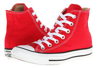 Converse All Star Hi Tops Red Mens Womens Sneakers Tennis Shoes M9621