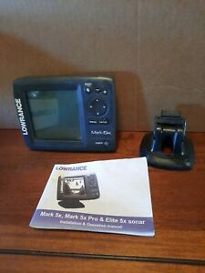 Lowrance Mark-5x Fishfinder Great Condition