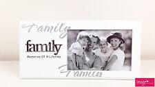 """Family """"Memories Of A Lifetime"""" White Picture Frames GKI-FAM1"""