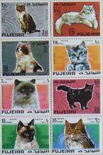 FUJEIRA -CATS,8 St.1970.MNH**,F011/L