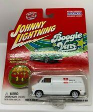 Johnny Lightning Boogie Vans 1977 Dodge D-150 WHITE LIGHTNING