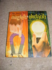 Magnets & Electricity Junior True Book HB 1970 home learning
