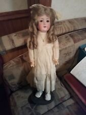 "Antique C.M. Bergmann German Bisque Doll - 21"" Tall"