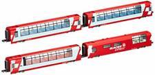 Kato Spur N Alpen Glacier Express 4Wagen Set 10-1146 Modellbahn