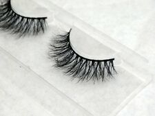 Amazing Quality 3D 100% REAL Siberian Mink Hair Hand Made Luxury Eyelashes DM-15