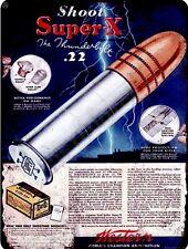 "Western Super X Ammunition 9"" x 12"" Sign"