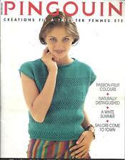 Pingouin Knitting Magazine Back Issue 163 - 22 Spring & Summer Designs for Women