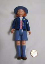 Rare! FISHER PRICE Loving Family Dollhouse POST OFFICE WOMAN MAIL CARRIER LADY