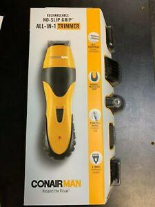 New Conair Man No-Slip Grip  Trimmer