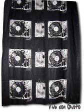 Stoff Diesel schwarz weiß Soundsystem 188x250  NEU Hst Zucchi Baumwolle