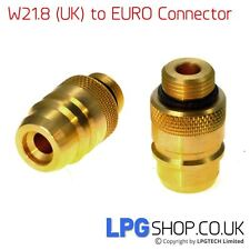 UK Bayonet (W21.8) to EURO (Spain/Portugal) Autogas Filling Point Adapter
