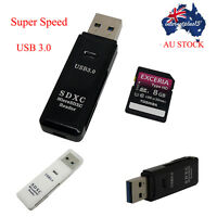 Mini Super Speed 5 Gbps USB 3.0 Micro SD/SDXC TF Card Reader Adapter For Mac