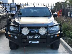 Bull Bar For Holden Colorado 2012-2016 Steel, Winch, ADR Approved
