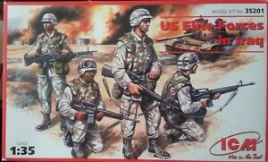 ICM 1/35 US Elite Forces in Iraq