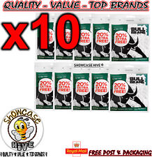 10 x BULL BRAND 300 MENTHOL FILTER TIPS SMOKING CIGARETTE ROLLING RESEALABLE BAG