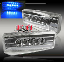 UNIVERSAL FENDER BLUE LED SIDE MARKER LIGHTS LAMPGALANT G3 G5 SUNFIRE WAVE NEON