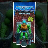 Masters of the Universe Origins Action Figure Man At Arms Mattel