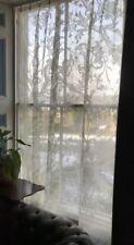Rideaux et cantonnières panneaux beige pour la maison, en 100% coton