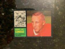 1962 Topps Football #141 B. J. CONRAD (SHORT PRINT).........EX